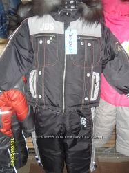 зимний костюм мальчику, в наличии размеры на 3 и 4 года