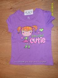 моднявые футболочки и шортики из Америки, childrens place, crazy8