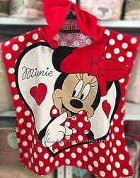 Лучший подарок для маленьких принцесс полотенце-пончо
