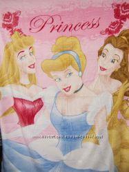 Детский плед для девочек - Принцессы. В наличии.