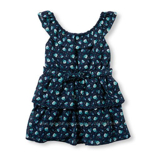 Летние яркие платья  Сhildrensplace и Оshkosh на 3, 4 и 5 лет