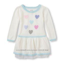 Теплое нарядное платье Сhildrensplace на девочку 3 года