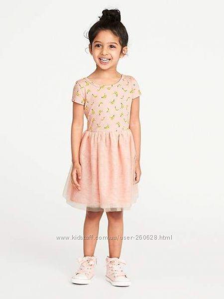 Красивые платья Old Navy для девочек 2 года