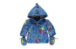 Куртка Синий динозаврик George для мальчика 12-18 мес