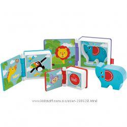Развивающие игрушки-книжки для самых маленьких Fisher-Price Оригинал