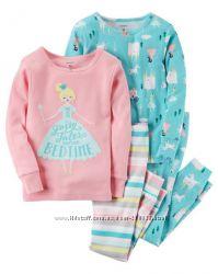 Пижамы Carters для девочек 18-24 мес ec96302cb0ef6