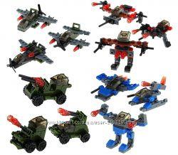 Набор конструктора 2 в 1 совместим с LEGO