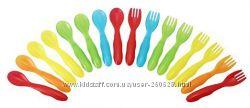 Посуда для малышей Take & Toss  ложки, вилки