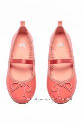 Туфли для девочки H&M стелька 16, 8 см
