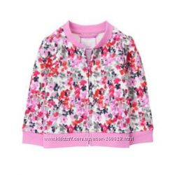 Цветочная кофта на молнии Gymboree для девочки  4 года