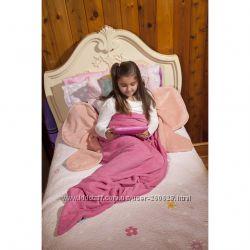 Пледы Одеяло Бабочка  и Хвост акулы флисовые для девочек и мальчиков