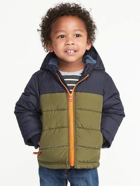 Зимние куртки Old Navy  для мальчиков 2, 3 и 5 лет
