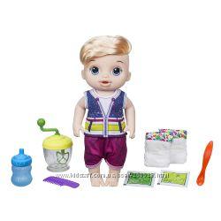 Пупс кукла мальчик с блендером Baby Alive Оригинал