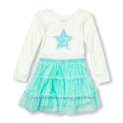 Красивое платье Звездочка Childrens place для девочки 2 года