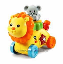 Vtech лев с шестеренками музыкальная развивающая игрушка Оригинал