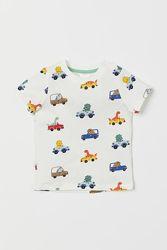 Шведки и футболки Childrens Place, H&M, Carters для маленьких мальчиков