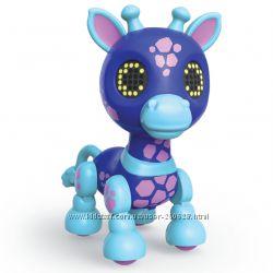 Интерактивная игрушка жираф Zoomer Zupps Safari Оригинал