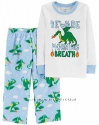 Флисовые пижамы Carters для мальчиков 2, 3, 4 и 5 лет