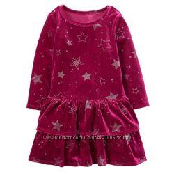 a0ad4f94d21 Красивые велюровые платья Gymboree для девочек 3 года