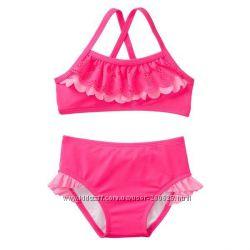 Красивые купальники H&M, Gymboree  для девочек 12-18 и 18-24 месяцев