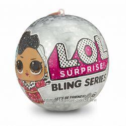 L. O. L. Шар Лол Surprise Bling Series Оригинал
