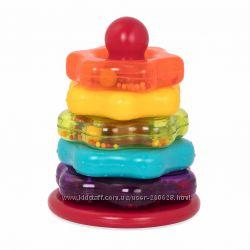 Battat  Пирамидка цветная для малышей Баттат Оригинал