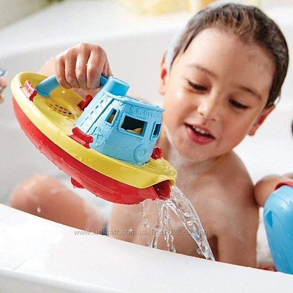 Игрушка лодка для ванной Грин тойс Green toys сделано в США