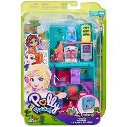 Игровой набор Полливилл аркада с микро-куклами Pollyville Оригинал
