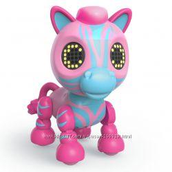 Интерактивные игрушки Зебры Zoomer Zupps Safari Zellie Оригинал