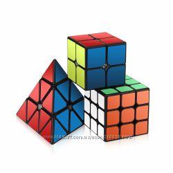 Набор 2 Кубика Рубика и Пирамидка Roxenda speed cube set Оригинал