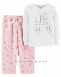 Теплая пижама Carters для девочек 2, 3 и 4 года