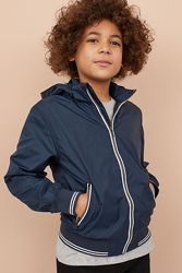 Нейлоновая куртка на подкладке для мальчика 12-13 лет