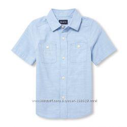 Рубашки с коротким рукавом Childrens Place  на 4, 5-6, 7-8 и 10-12 лет1