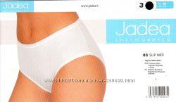 Трусики слип Jadea art. 03, хлопок, белые и черные размеры M, L, XL, XXL