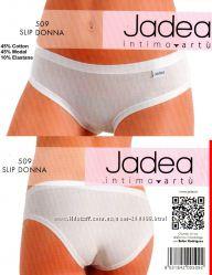 Трусики слип Jadea art. 509, белые и черные, размеры М, L