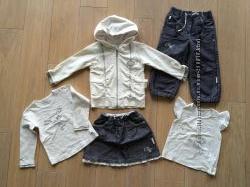Комплект Wojcik 98 кофта юбка реглан джинсы футболка