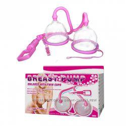 Двойная вакуумная помпа для груди Breast Pump