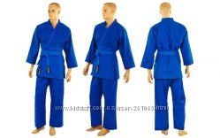 Кимоно для дзюдо синие ma-0015