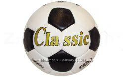 Футбольный мяч кожа CLASSIC FB-0045