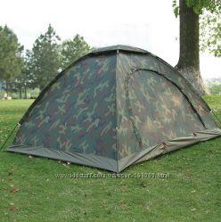 Палатка 3-х трехместная для рыбалки, охоты камуфляжного цвета Sy-011
