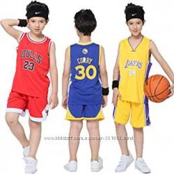 Баскетбольная форма детская, подростковая НБА NBA, баскетбольна форма