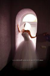 воздушное, нежное свадебное платье и очень удобное.