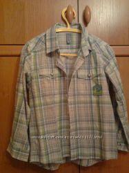 Крутая моднявая состояние новой Рубашка для мальчика хлопковая