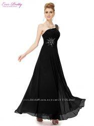 Красивое длинное платье на худенькую красавицу
