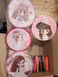Круглые сумочки для девочек
