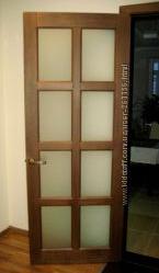 Двери межкомнатные сосновые, ясеневые