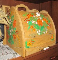 Хлебница, подарок для любимого человека,  хлебница из натурального дерева,