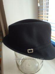 Шерстяная оригинальная шляпка
