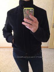 Вельветовая утепленная оригинальная курточка