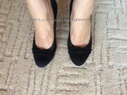 Туфли КАМЕЯ замш-кожа. Отличное качество и состояние
